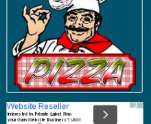 send you a Pizzeria mobile website template