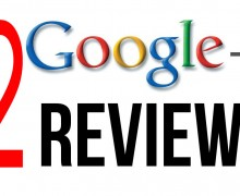 I will send you 2 Google plus Review – 5 stars